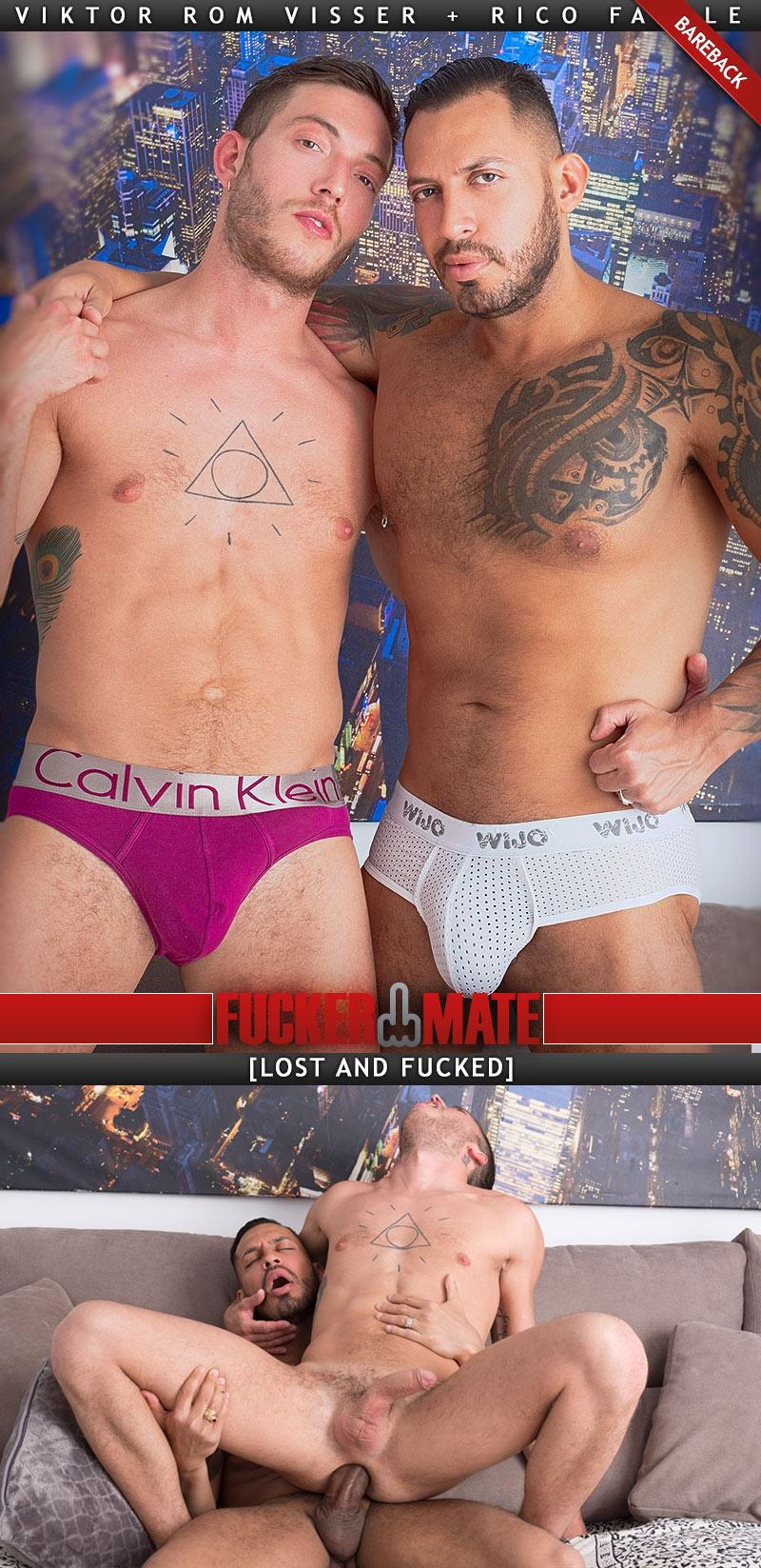 Lost and Fucked (Viktor Rom Visser Fucks Rico Fatale) (Bareback) at Fuckermate