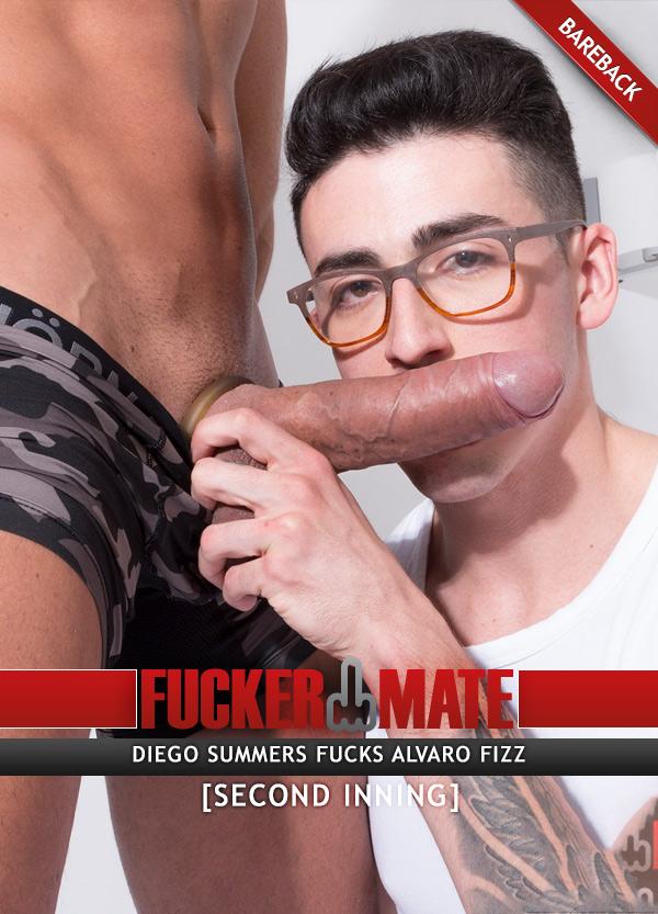 Second Inning (Diego Summers Fucks Alvaro Fizz) (Bareback) at Fuckermate