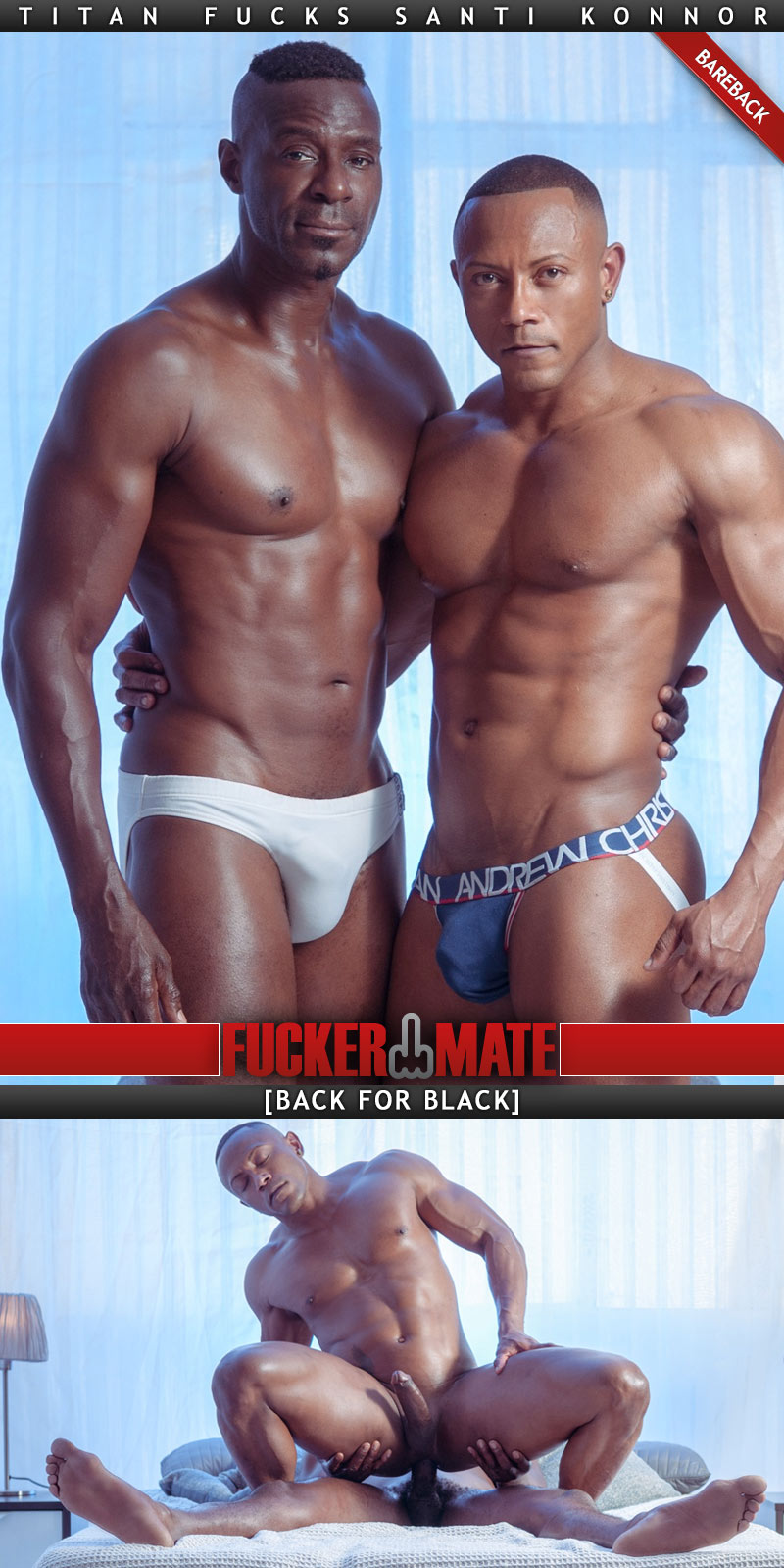 Back To Black (Titan and Santi Konnor) (Bareback) at Fuckermate