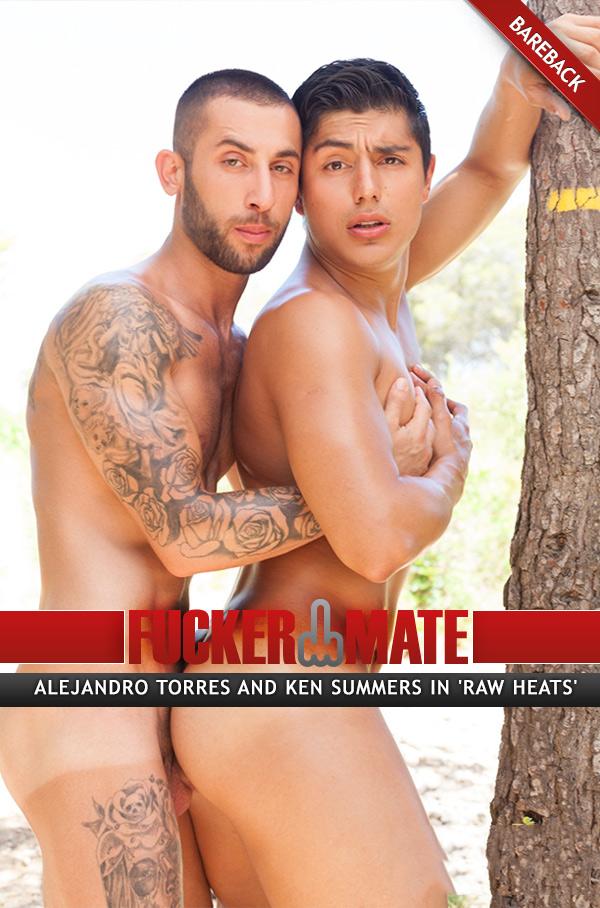 Raw Heats (Alejandro Torres and Ken Summers) (Bareback) at Fuckermate