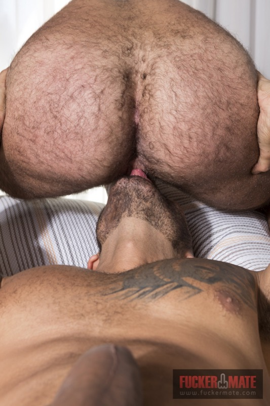 Fuck Me Rough (Viktor Rom Visser Barebacks Teddy Torres) (Bareback) at Fuckermate