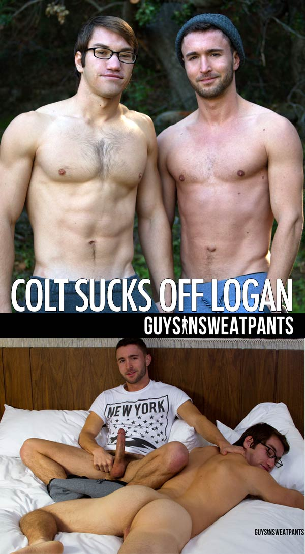 Colt Rivers Sucks Off Logan at Guys In Sweatpants