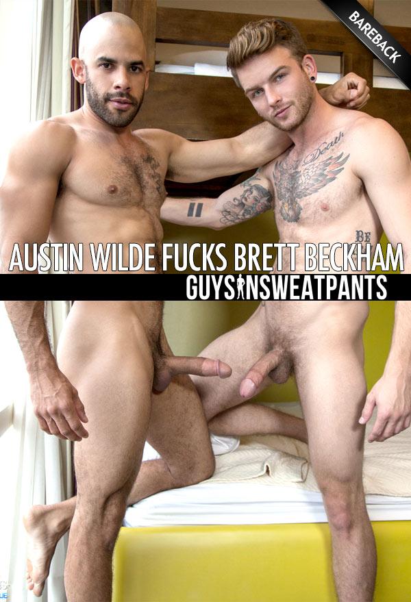 Austin Wilde Fucks Brett Beckham (Bareback) at Guys In Sweatpants