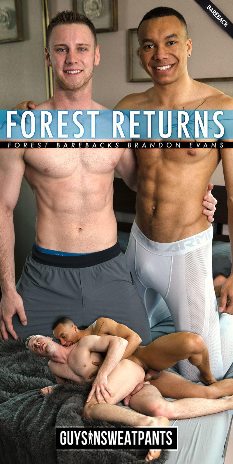 Forest Barebacks Brandon Evans at Guys In Sweatpants