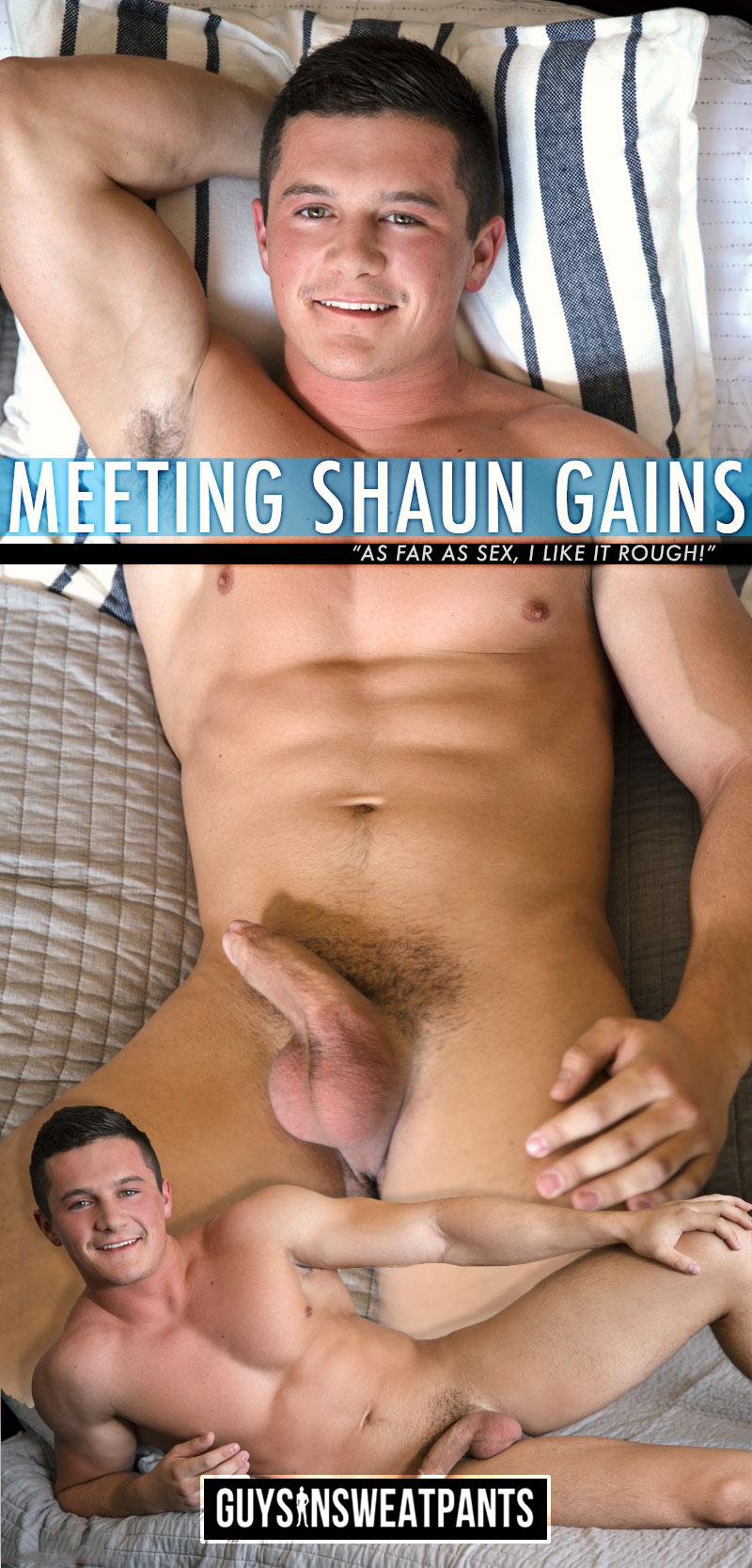 Meeting Shaun Gains at Guys In Sweatpants