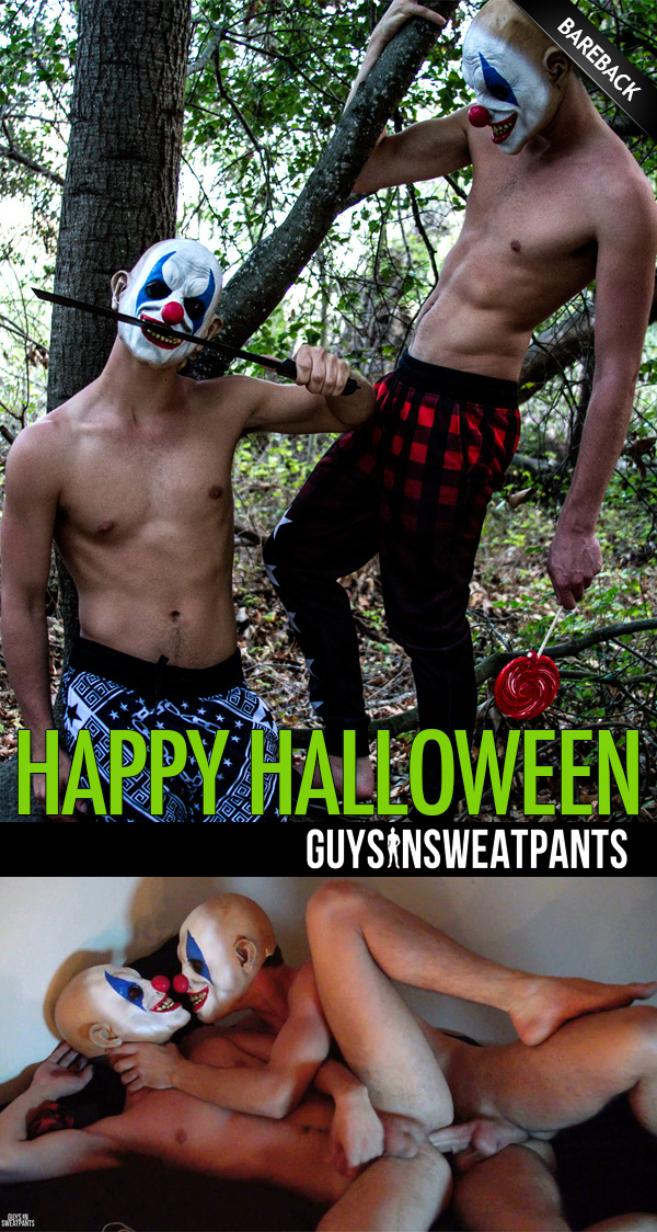 Happy Halloween at Guys In Sweatpants