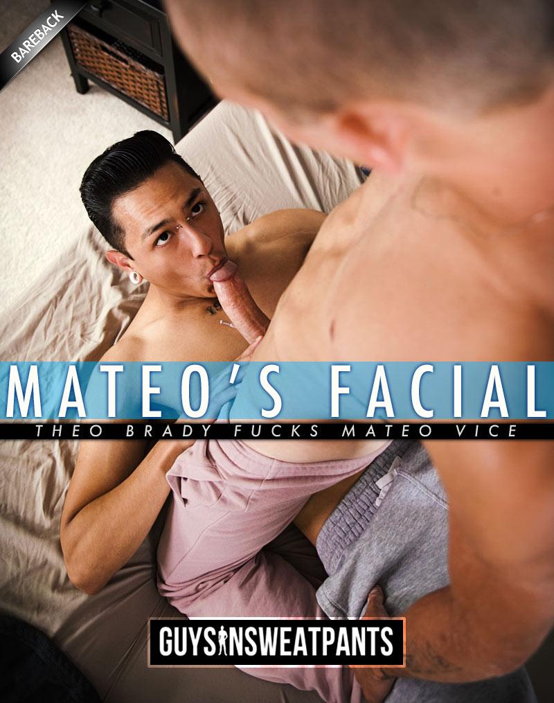 Mateo's Facial (Theo Brady Fucks Mateo Vice) at Guys In Sweatpants
