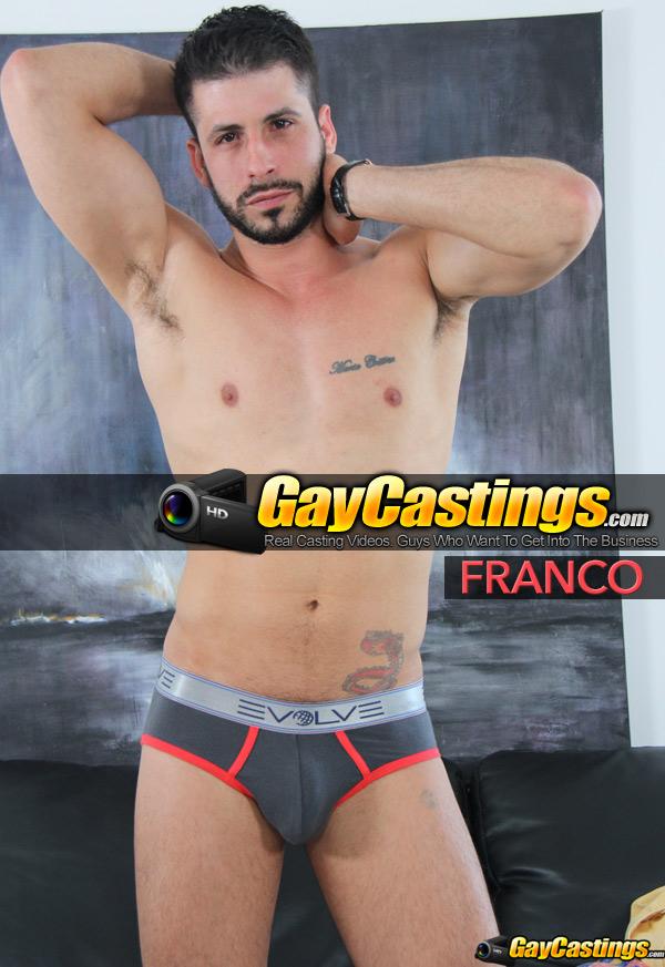Franco at GayCastings