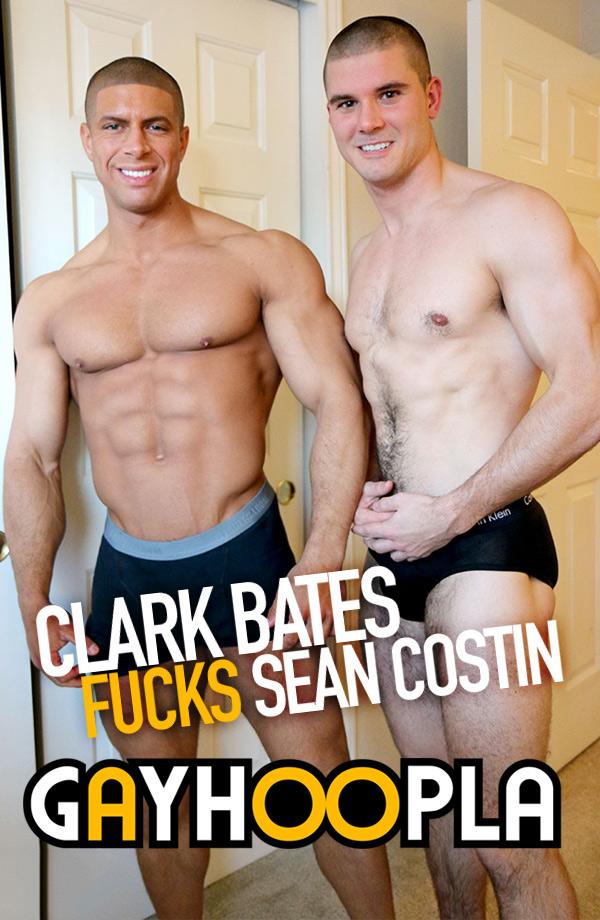 Clark Bates FUCKS Sean Costin at GayHoopla