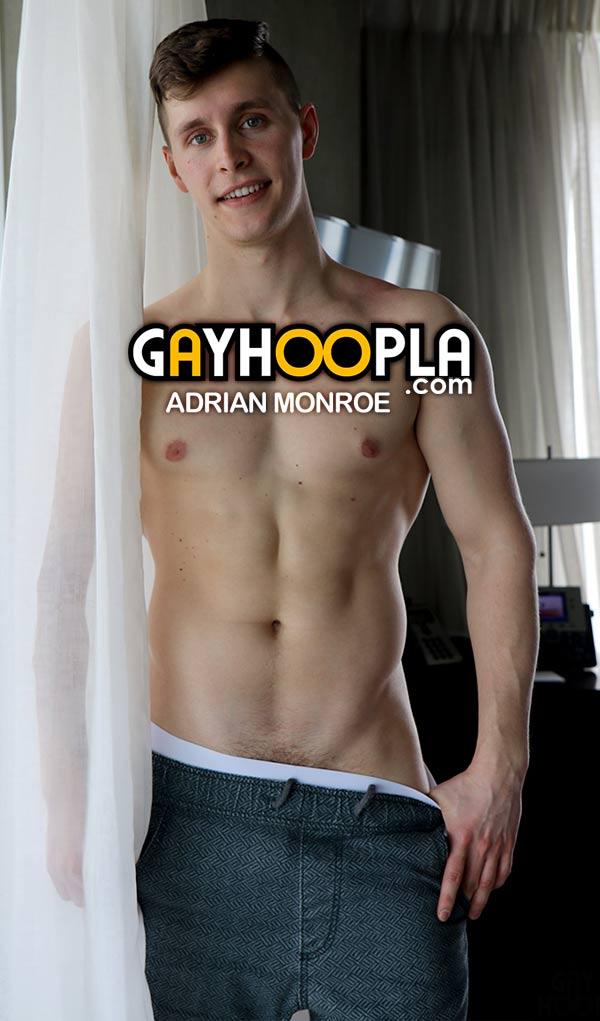 Adrian Monroe at GayHoopla