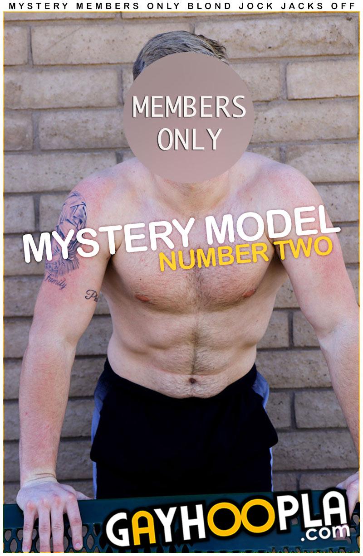 Mystery Model #2 at GayHoopla