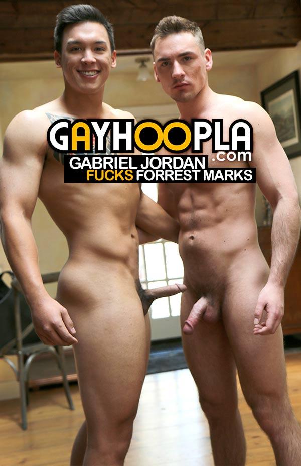 Gabriel Jordan Fucks Forrest Marks at GayHoopla