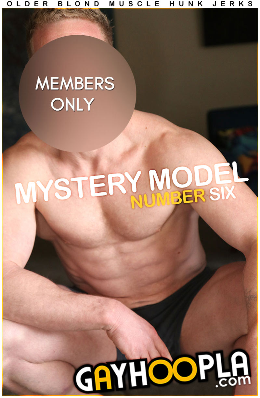 Mystery Model #6 at GayHoopla