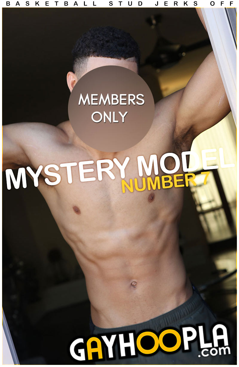 Mystery Members Only Model #7 at GayHoopla