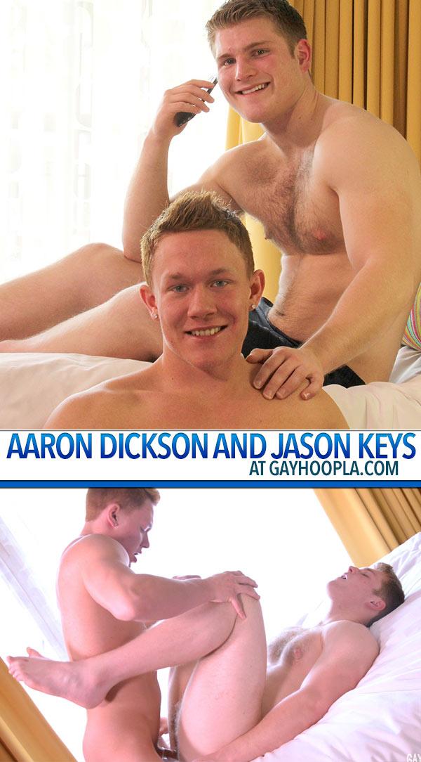 Aaron Dickson and Jason Keys FUCK at GayHoopla
