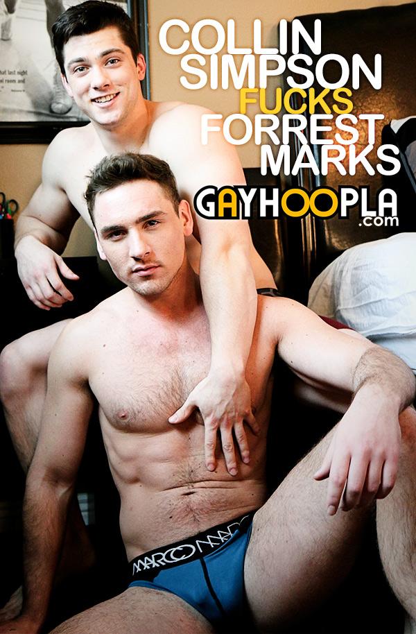 Collin Simpson Fucks Forrest Marks at GayHoopla to GayHoopla