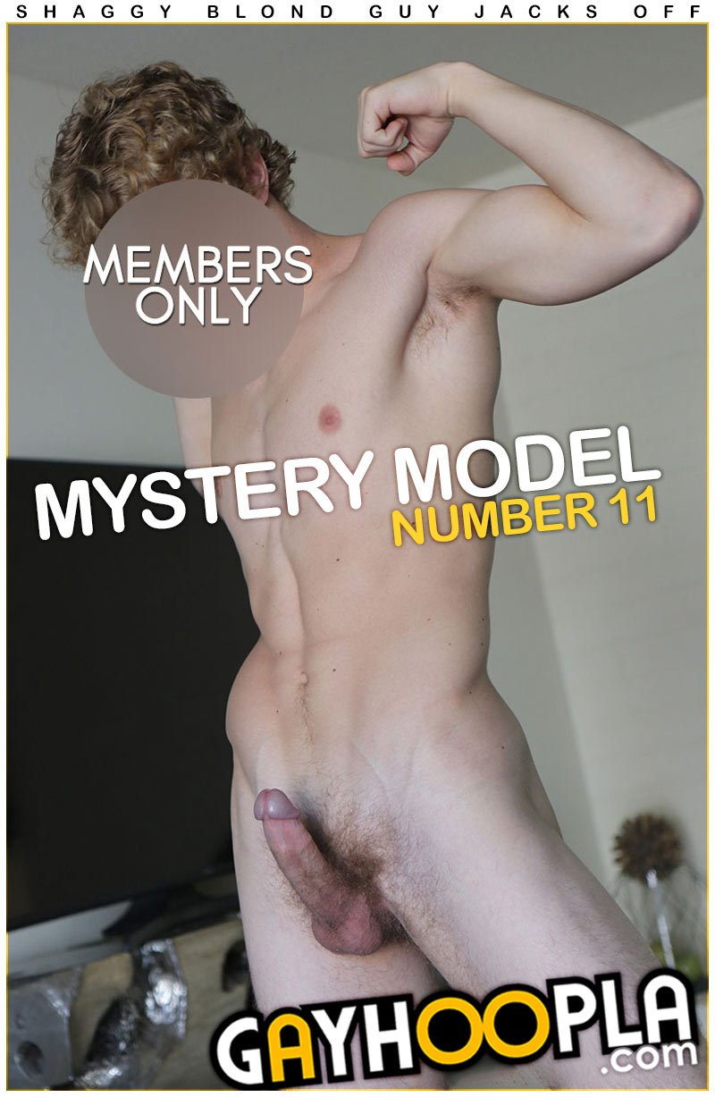 Mystery Members Only Model #11 at GayHoopla