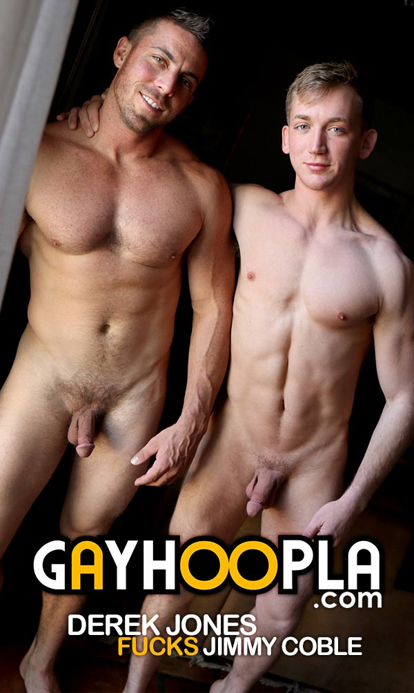 Jimmy Coble First-time Gay Sex (Gets Fucked By Derek Jones) at GayHoopla