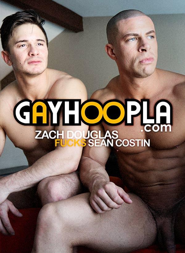 Zach Douglas Fucks Sean Costin at GayHoopla