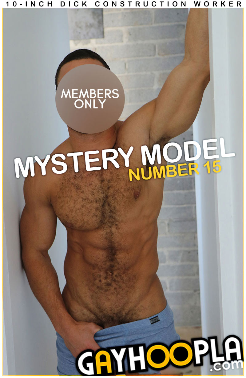 Mystery Members Only Model #15 at GayHoopla