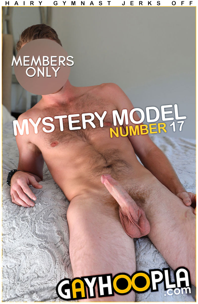 Mystery Members Only Model #17 at GayHoopla