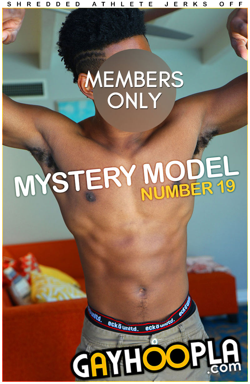 Mystery Members Only Model #19 at GayHoopla