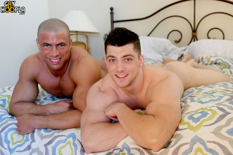 Collin Simpson and Sean Costin FLIP-FUCK at GayHoopla