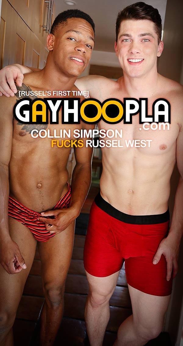 Collin Simpson Fucks Russel West at GayHoopla