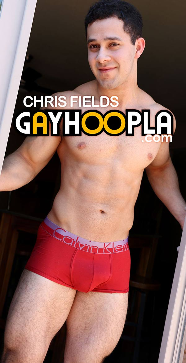 Chris Fields at GayHoopla