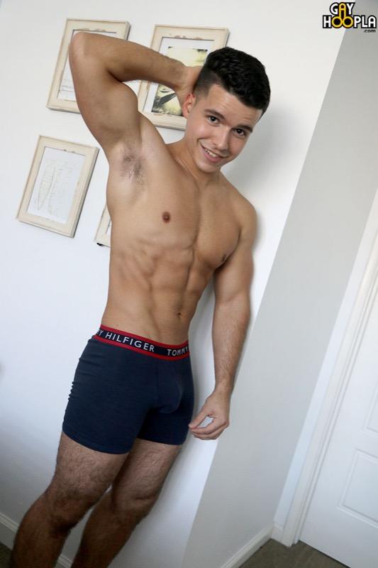 Damian Romano at GayHoopla