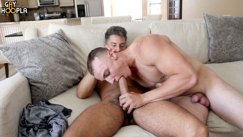 Bradley Whitman Fucks Trevor Brown at GayHoopla