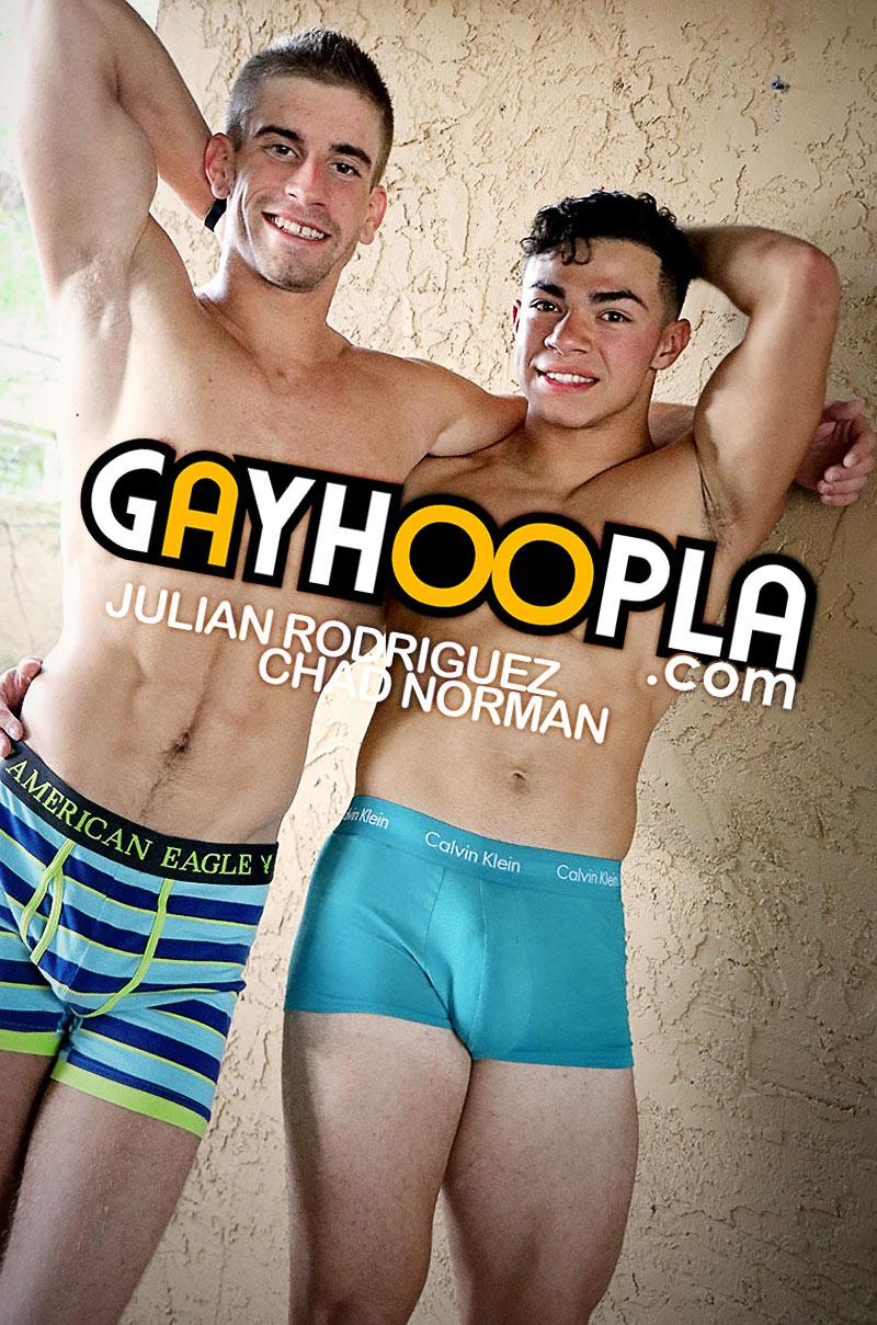 Julian Rodriguez FUCKS Chad Norman at GayHoopla