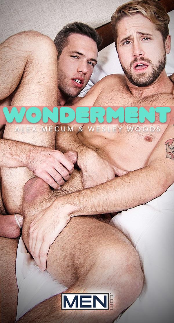 Wonderment (Wesley Woods Fucks Alex Mecum) at Gods Of Men