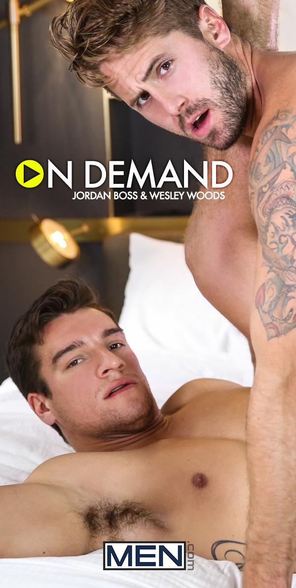 On Demand (Jordan Boss & Wesley Woods Flip-Fuck) at Gods Of Men