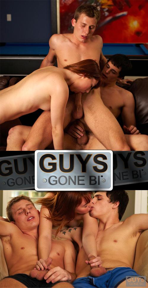 Philip & Kenny's Bi Tag Team at GuysGoneBi.com