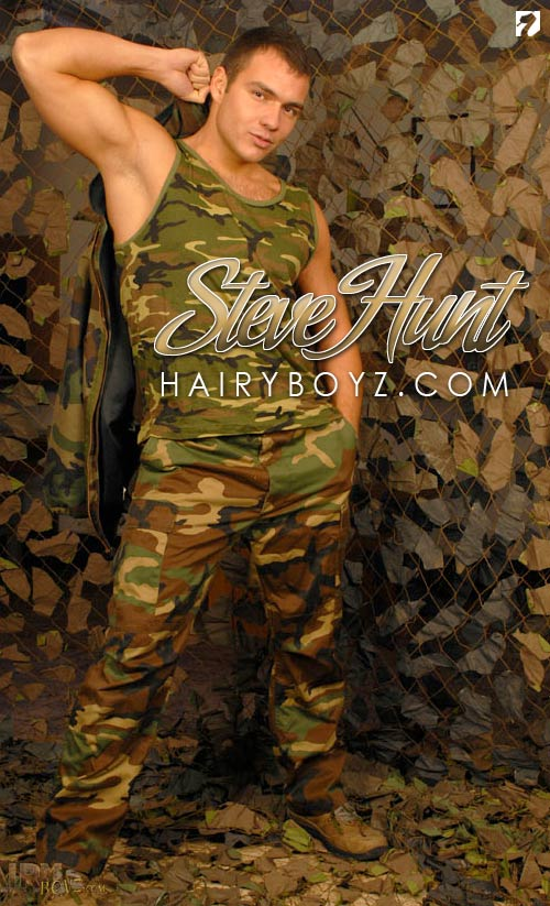 Steve Hunt (Set 1) at HairyBoyz