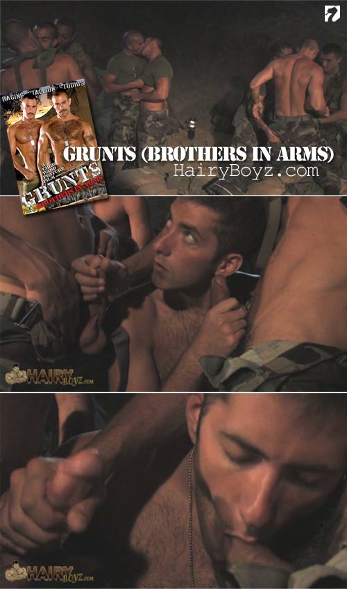 Grunts(Brothers In Arms) at HairyBoyz