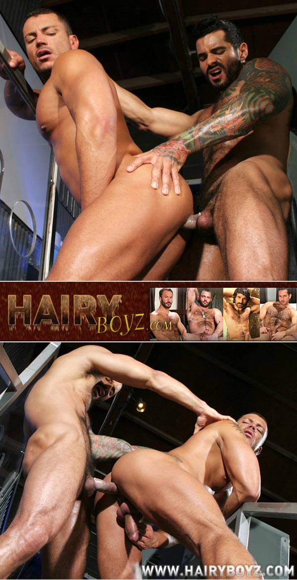 Alexsander Freitas & Angelo Marconi at HairyBoyz