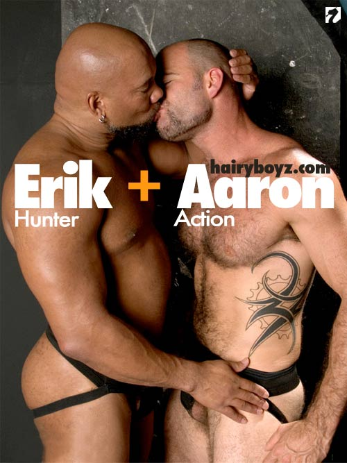 Aaron Action & Erik Hunter at HairyBoyz