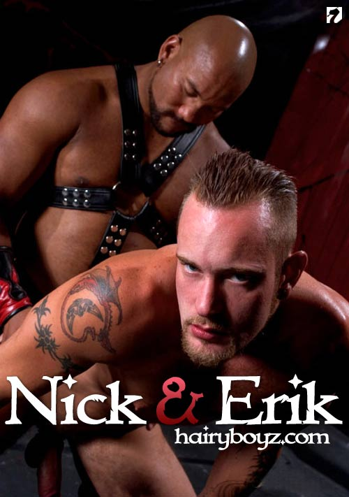 Nick & Erik at HairyBoyz