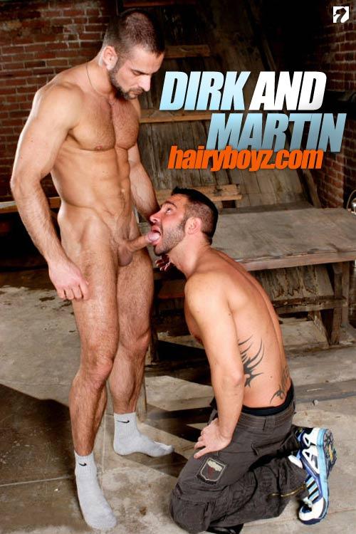 Dirk Jager & Martin Mazza at HairyBoyz
