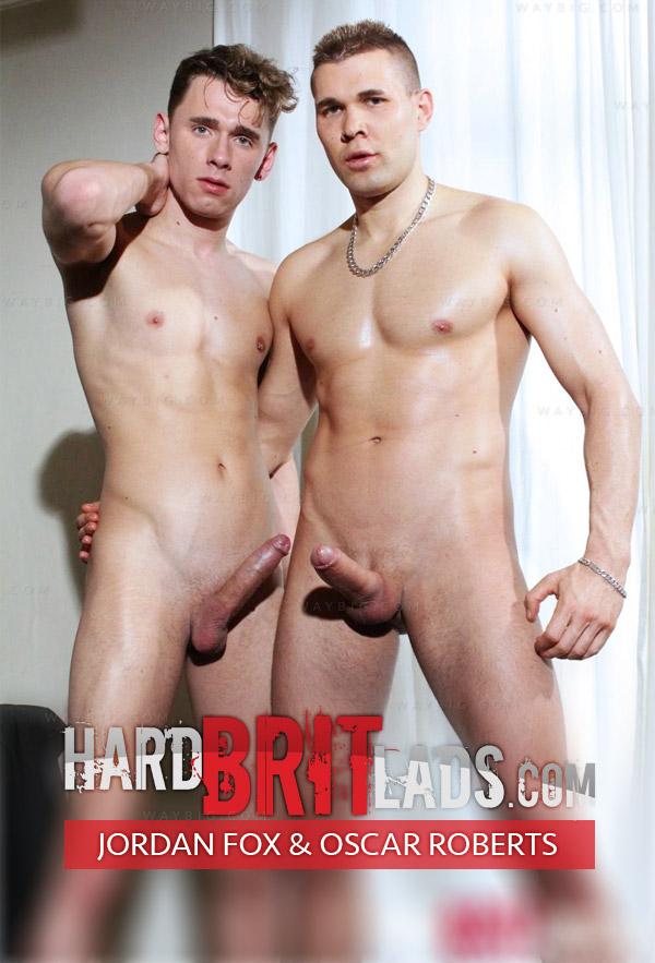 Jordan Fox & Oscar Roberts at HardBritLads