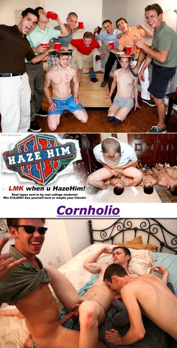 Cornholio at HazeHim.com
