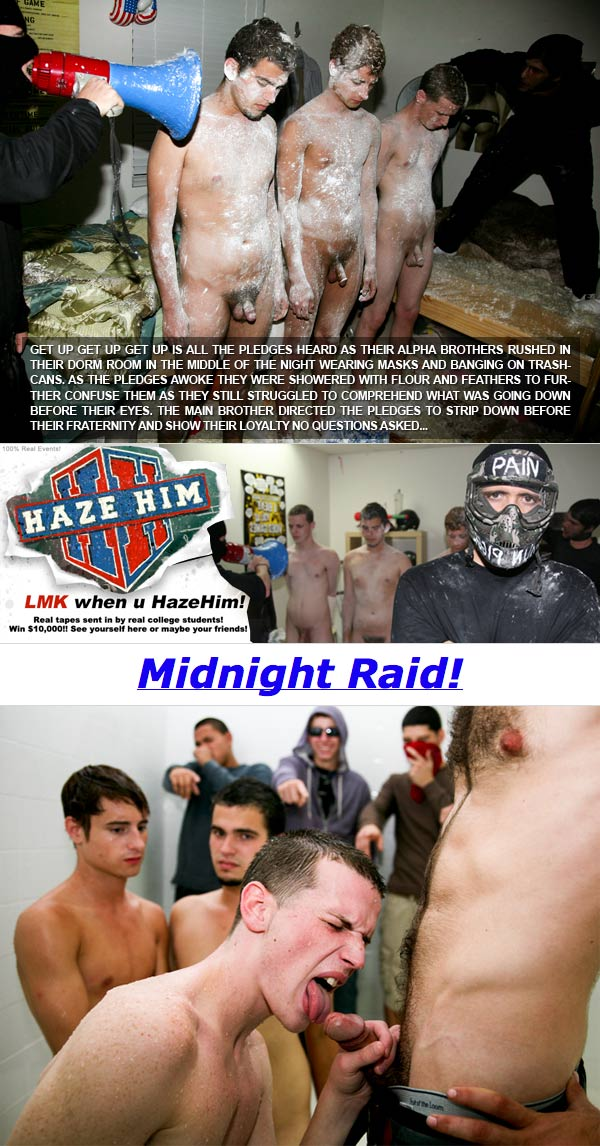 Midnight Raid! at HazeHim.com