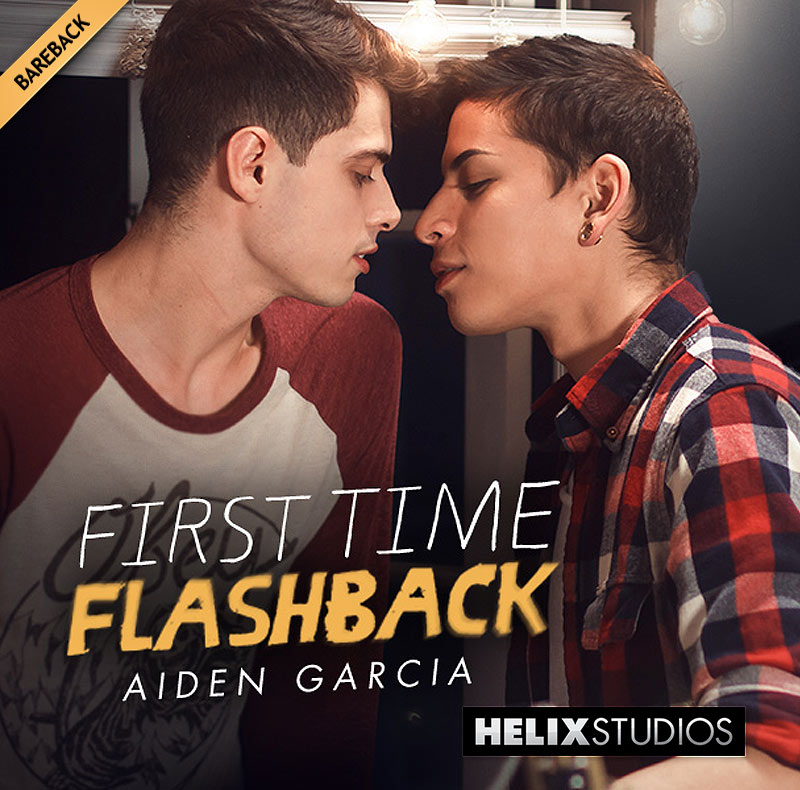 First Time Flashback: Aiden Garcia (with Ben Masters) at HelixStudios