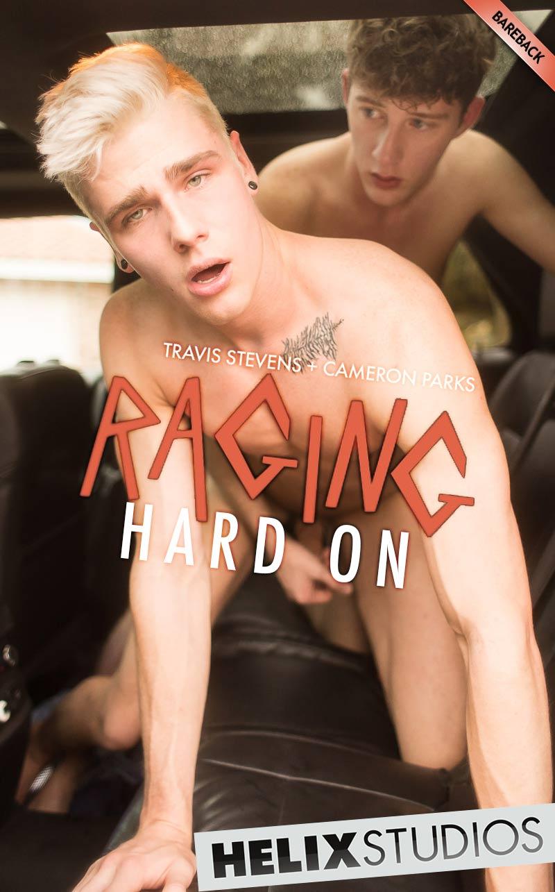 Raging Hard On (Travis Stevens and Cameron Parks Flip-Fuck) at HelixStudios
