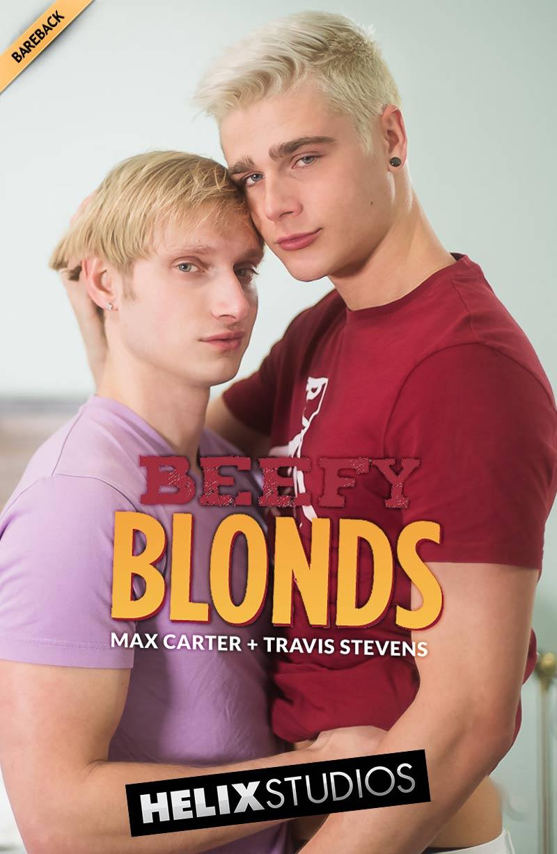 Beefy Blonds (Travis Stevens and Max Carter Flip-Fuck) (Bareback) at HelixStudios