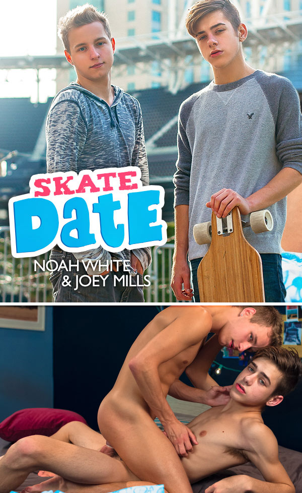 Skate Date (Noah White and Joey Mills Flip-Fuck) at HelixStudios