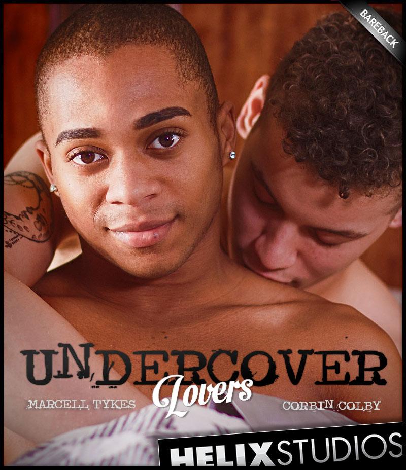 Undercover Lovers (Corbin Colby Fucks Marcell Tykes) (Bareback) at HelixStudios
