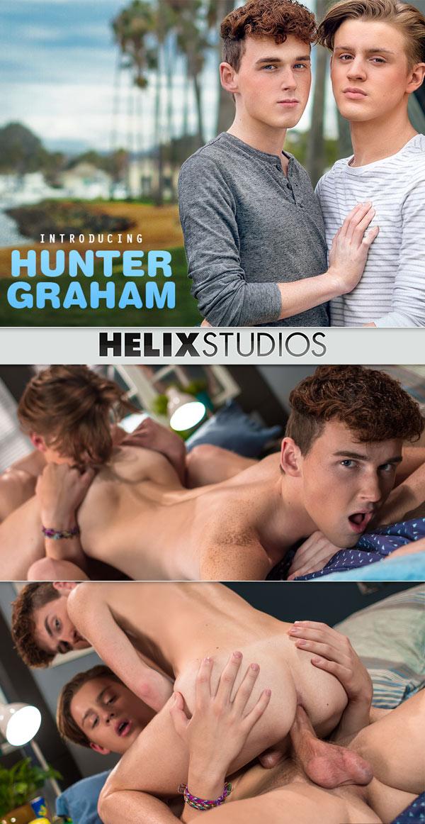Introducing Hunter Graham (Wes Campbell Fucks Hunter Graham) at HelixStudios